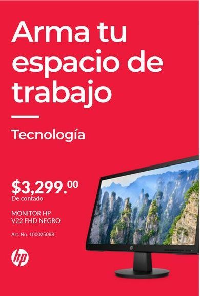Oferta de Monitor led HP por