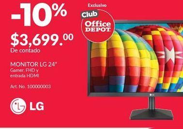 Oferta de Monitor led LG por
