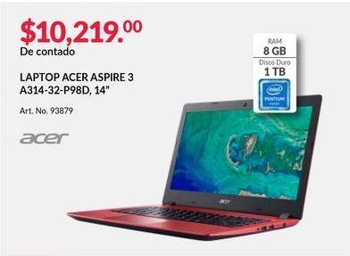 Oferta de Laptop Acer por