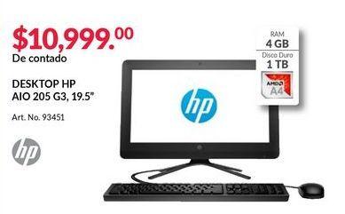 Oferta de Computadora de escritorio HP por