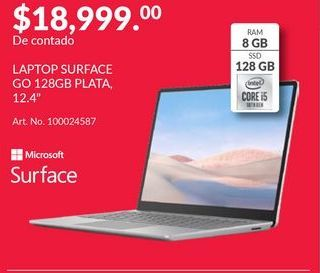 Oferta de Laptop Surface por