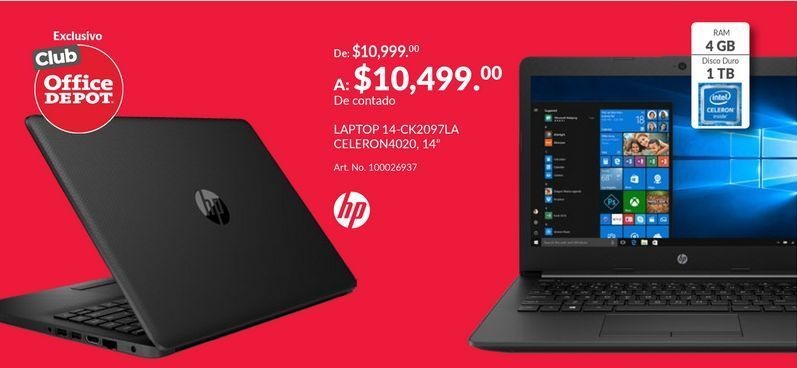 Oferta de Laptop HP por