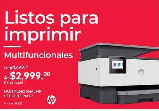Oferta de Impresora multifunción HP por