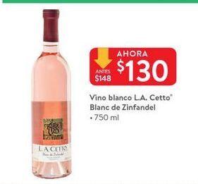 Oferta de Vino blanco L.A. Cetto por $130