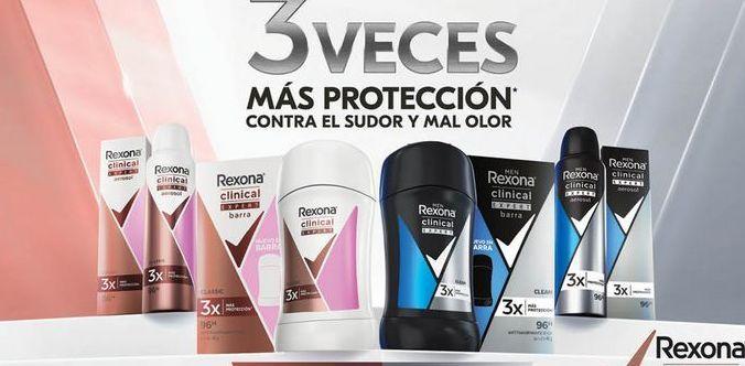 Oferta de Desodorante en barra Rexona por