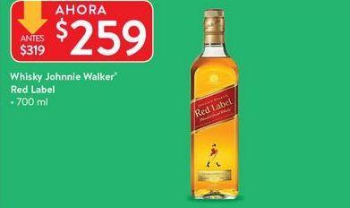Oferta de Whisky Johnnie Walker por $259