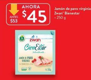 Oferta de Jamón de pavo Zwan por $45