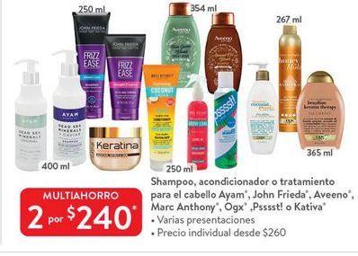 Oferta de Shampoo Marc Anthony por $240