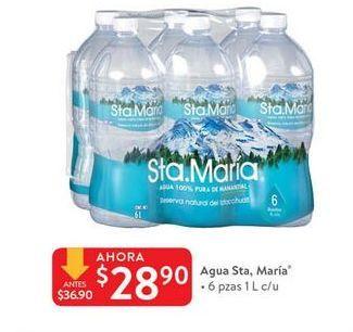 Oferta de Agua Santa María por $28.9