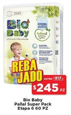 Oferta de Pañales Bio Baby por $245