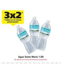 Oferta de Agua Santa María por