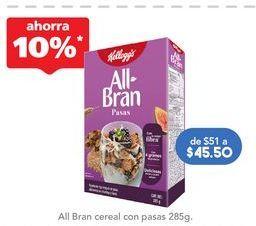 Oferta de Cereales con fibra All Bran por