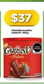 Oferta de Chocolate Carlos V por $37