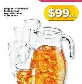 Oferta de Juego de jarra de vidrio por $99