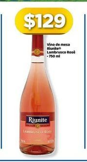 Oferta de Vino Rosado Riunite por $129