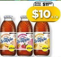 Oferta de Jugos Snapple por $10