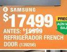Oferta de Refrigerador French por