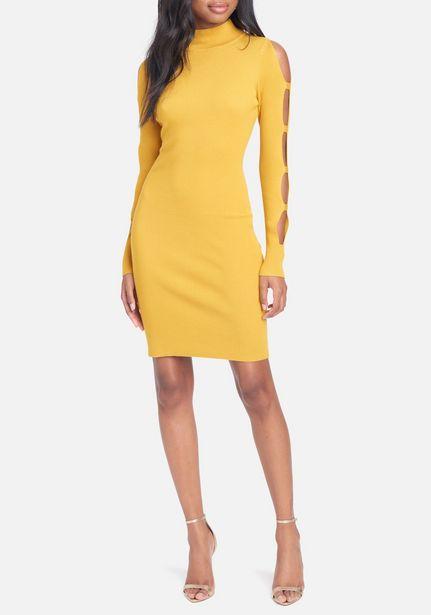 Oferta de Cage Sleeve Sweater Dress por $44.99
