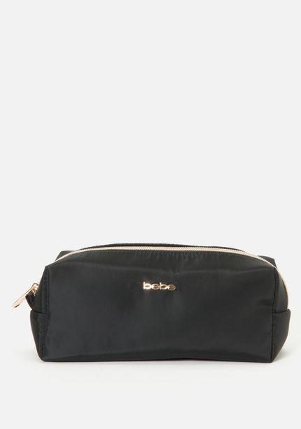 Oferta de Black Cosmetic Bag por $14.99