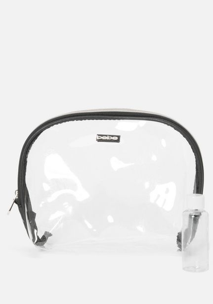 Oferta de Clear Cosmetic Bag por $9.99