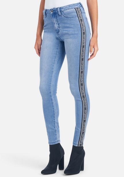 Oferta de Bebe Logo Side Taping Jeans por $21.99