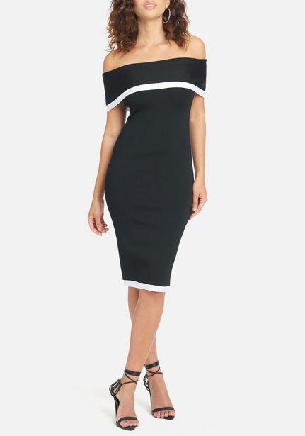 Oferta de Off Shoulder Sweater Dress por $49.99