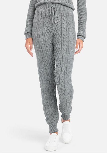 Oferta de Bebe Logo Cable Knit Sweatpants por $29.99
