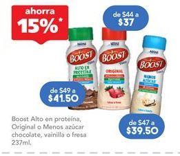 Oferta de Suplementos alimenticios Boost por