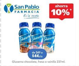Oferta de Suplementos alimenticios Glucerna 237 ml por