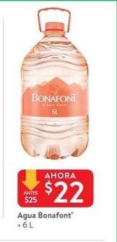 Oferta de Agua Bonafont por $22