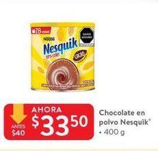 Oferta de Chocolate Nesquik por $33.5