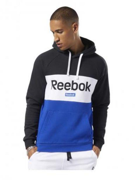 Oferta de REEBOK EJ9866 BLACK TE BIG LOGO OTH HOODIE  S-M-L-XL por $1099