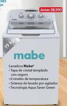 Oferta de Lavadora de carga superior Mabe por $6484