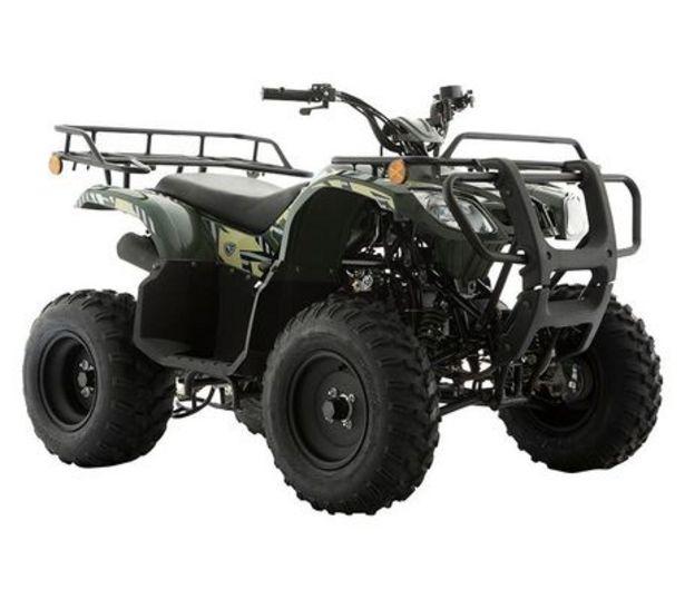 Oferta de Cuatrimoto Italika ATV 180 Negro/ Verde  por $44499