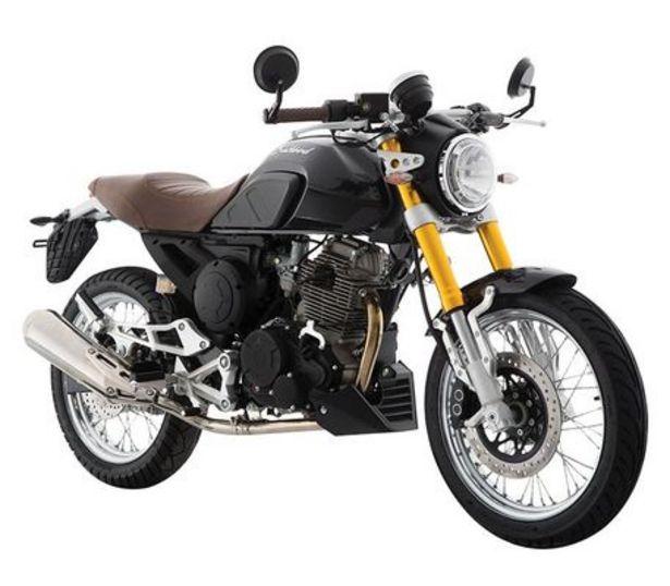 Oferta de Motocicleta De Ciudad Italika Blackbird250 Negro C/Casco por $47999