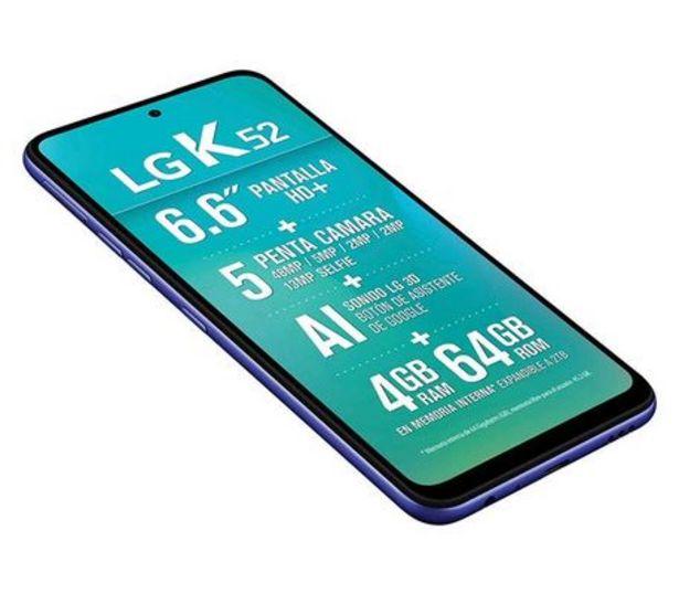 Oferta de LG CELULAR K52 64GB por $4599