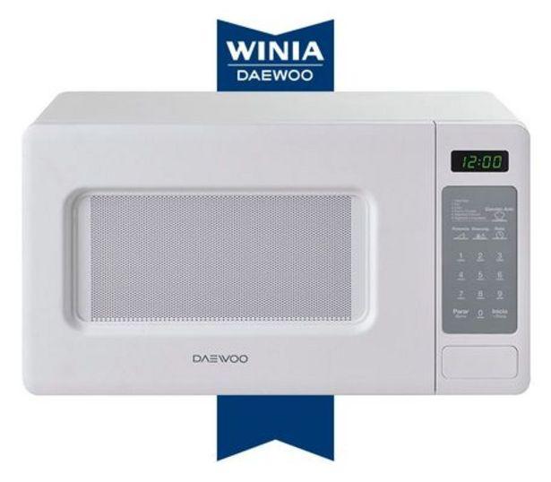 Oferta de Daewoo Horno Microondas Kor-667Dw 0.7 Pies Cúbicos por $1199