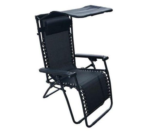Oferta de Silla Plegable Zero Negra   por $2409