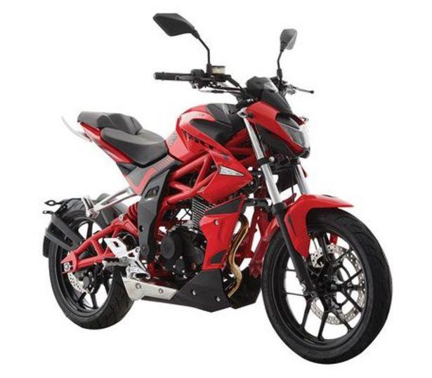 Oferta de Motocicleta De Ciudad Italika Vort-X 200 Rojo/Negro C/Casco por $48999