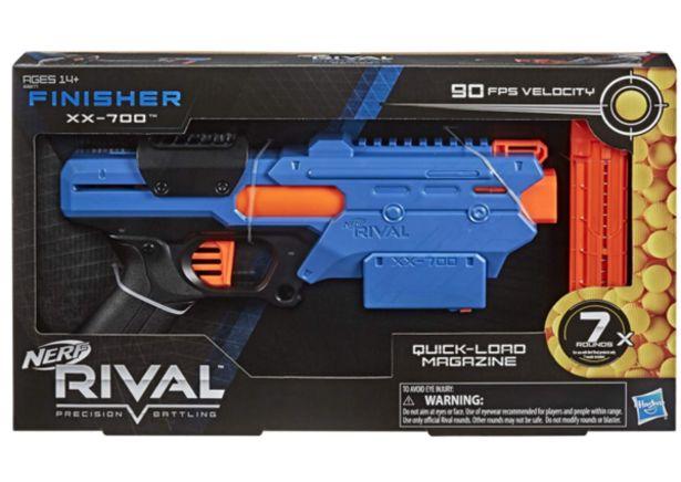 Oferta de Nerf Rival Finisher XX-700 Blaster E8877 por $529