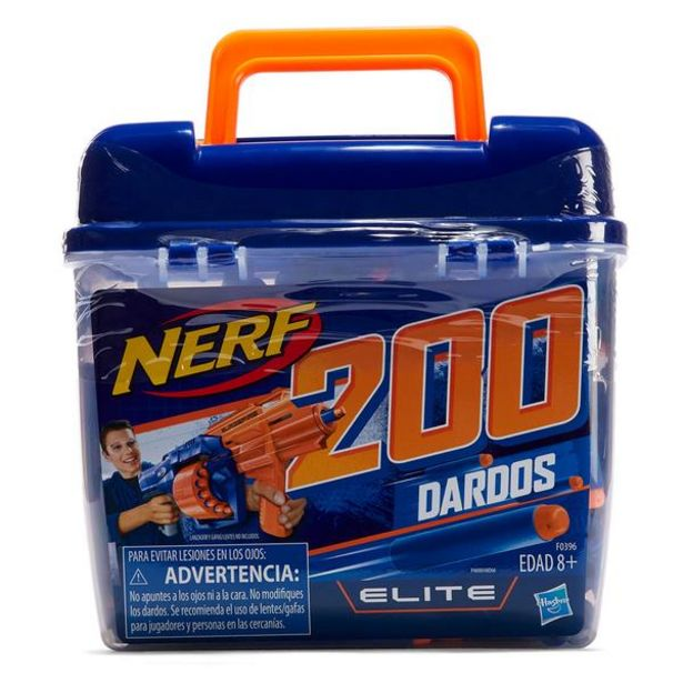Oferta de NERF ELITE 200 DART REFILL BUCK F0396 por $509