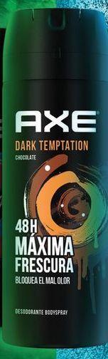 Oferta de Deo Axe Spray Dark Temptation Caballero por