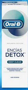 Oferta de Pasta Dental Oral-B Encías Detox Esmalte Repair con Flúor 75ml por