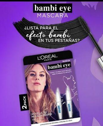 Oferta de Mascara Loreal Make Up Bambi por