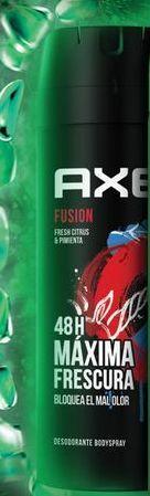 Oferta de Deo Axe Spray Fusion Caballero 150 Ml por