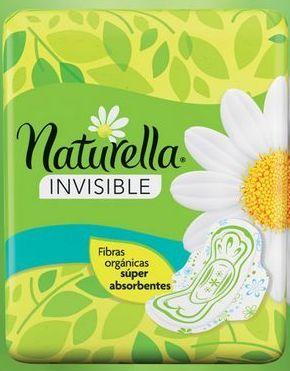 Oferta de Toalla Fem Naturella Invisible 10 Pz por