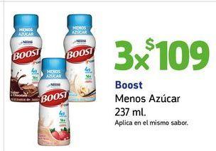 Oferta de Boost Menos Azúcar 237 ml x 3 por $109