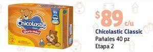 Oferta de Pañales Chicolastic etapa 2 por $89