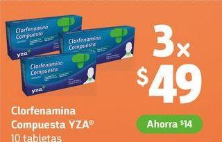 Oferta de Medicamentos Clorfenamina por