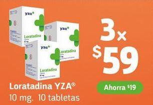 Oferta de Loratadina YZA x 3 por $59